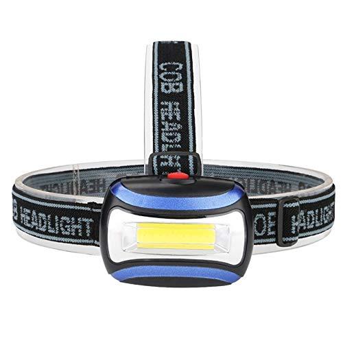 letaowl Faro LED faro USB recargable interfaz Ciclismo faro 3-modo magnético trabajo cabeza antorcha camping pesca linterna