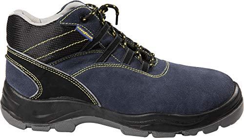 Scarpe antinfortunistiche alte S1P mod.G138109 num 42 blu/nero Lavoro