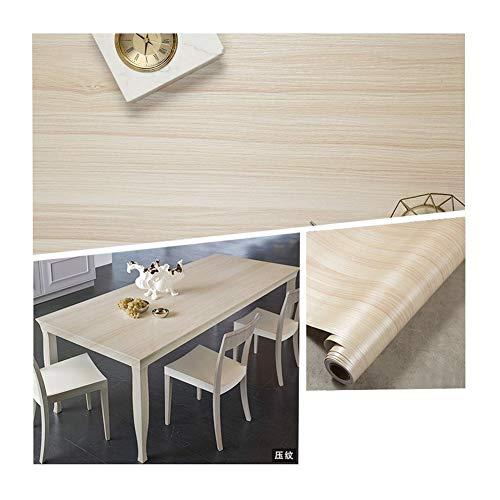 HDS Möbel Renovierung Aufkleber Alte Kleiderschrank Original-Holztüren Tabelle Wasserdicht Holzmaserung Aufkleber Holzimitation dekorative Tapete Selbstklebende Flexible Prozess Leichter und Zeugend