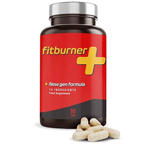 Suplemento alimentício que Contiene Garcinia, Cafeína y Vitaminas - 90 Cápsulas | FITBURNER