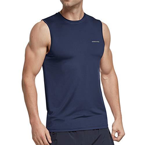 Ogeenier Camiseta Tirantes Hombre Deportiva Camiseta sin Manga Running Deporte Baloncesto Top