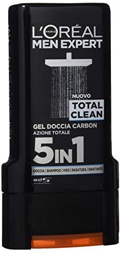 L'Oréal Paris Men Expert Gel Douche, 300 ml Total Clean