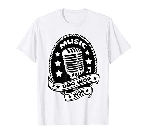 Rockabilly Ropa Rock and Roll Hombre Mujer Rockera Doo Wop Camiseta