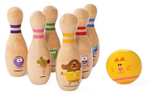 Hey Duggee 9014 Classic Skittles Set, Multi Juego de Bolos clásicos, Multicolor (8th Wonder