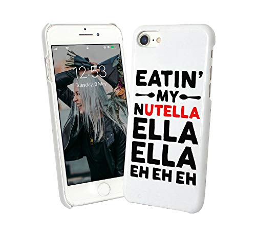 LumaCases Eatin My Nutella Music Lyrics Funny_002047 Case for Compatible with iPhone 6 Custodia Protettiva Guscio Resistente Cover Bumper Shell Protective Protection