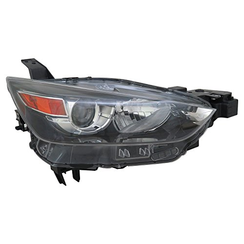 TYC 20-9751-01-9 Replacement right Head Lamp (MAZDA CX-3), 1 Pack