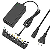 TKDY 65W Universal Laptop Charger 19V 3.42A AC Adapter for HP Dell Toshiba IBM Lenovo Acer ASUS Samsung Sony Fujitsu Gateway Notebook Ultrabook Chromebook.