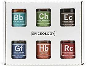 6-Pack Barbecue Seasoning Set - Spiceology Premium Mini BBQ Rubs and Spice Blends