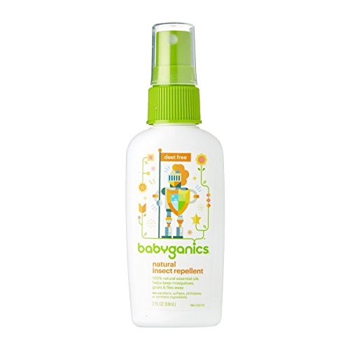 Babyganics Travel Size Bug Spray, 2oz, Packaging May Vary