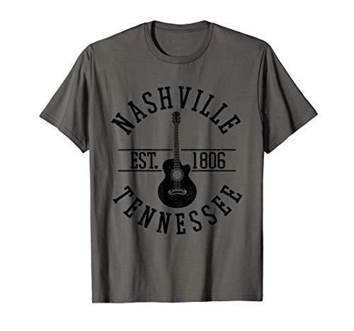 Nashville Tennessee USA Country Musik Gitarre Geschenk T-Shirt