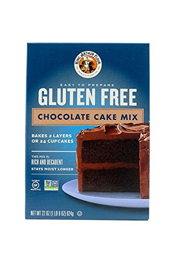 King Arthur Flour Chocolate Cake Mix, Gluten Free, 22-Ounce (Pack of 3)