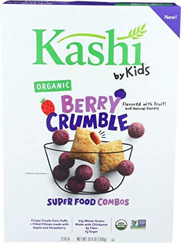 Kashi by Kids Berry Crumble Cereal, Organic, Vegan, 10.8 Oz Box