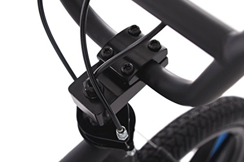 KS Cycling BMX Freestyle Daemon Fahrrad, schwarz-Blau, 20 - 4