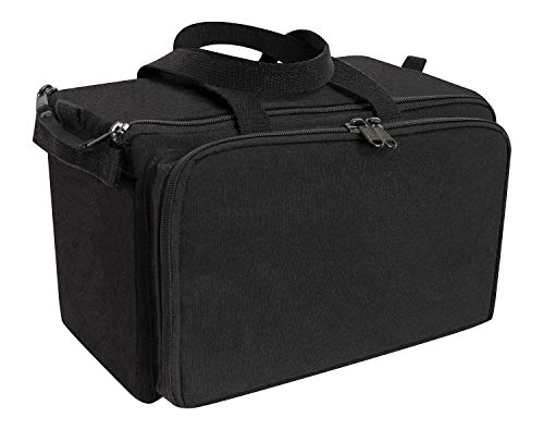 Rothco Canvas Tactical Shooting Range Bag  Gun Bag - Black