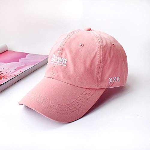 wopiaol Spring and summer new hat female embroidery letter cap female Korean casual student fashion hip-hop couple baseball cap