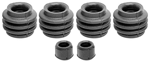 ACDelco 18K1168 Professional Front Disc Brake Caliper Rubber Bushing Kit with Seals and Bushings