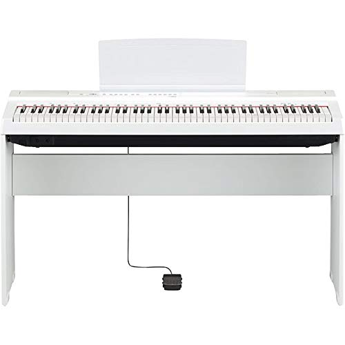 Yamaha L-125WH digital piano stand, white - Robust, for sale  Delivered anywhere in UK