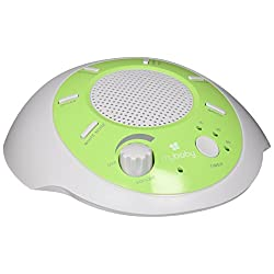 myBaby SoundSpa Portable Machine, Plays 6 Natural Sounds, Auto-Off Timer, Portable for New Mother or Traveler, Battery or Adapter Operated, MYB-S200