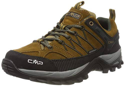 CMP Herren Rigel Low Shoes Wp Trekking-& Wanderhalbschuhe, Beige (Senape-Arabica 03pd), 41 EU
