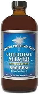 Colloidal Silver 500 PPM Natural Path Silver Wings 32 fl oz Liquid