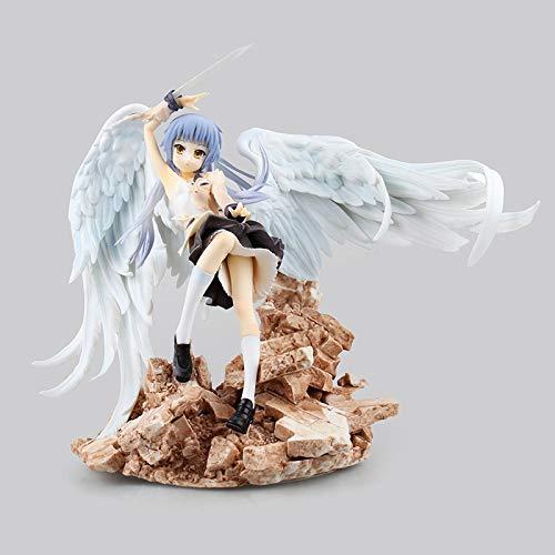 YYGB Angel Beats! Tachibana Kanade Modelo de Figura de acción de Anime Estatua 22cm, PVC Muñeca de Personaje de Juguete de Estatuilla-Mejor Regalo Coleccionable Playsets
