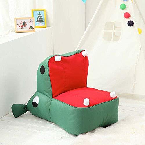 YUHUANG Kinder Dinosaur Bean Bag, Luie Bank Comfortabele Woonkamer Casual Bean Bag Sofa Student/Tatami Kinderstoel is een goed cadeau