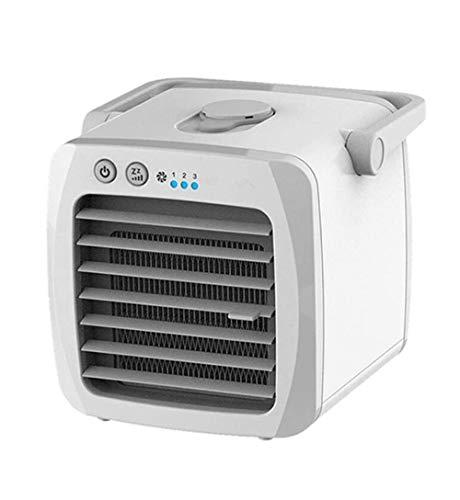 3-in-1 Persoonlijke Airconditioning, USB Persoonlijke Verdampingskoeler Mini Luchtkoeler, Luchtbevochtiger For Thuis, Kantoor, Kinderkamer, Reizen, Enz.