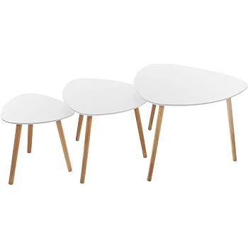 Set di 3 tavolini da caff/è Break Mileo Atmosphera UNIVERS-DECOR