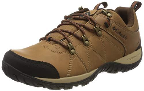 Columbia Peakfreak Venture, Zapatos Impermeables para Hombre, Beige (Elk, Dark Adobe 286), 40.5 EU