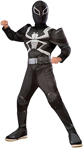 Child Deluxe Agent Venom Fancy dress costume Large