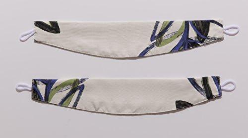 ナイスデイ IN-FA-LA 北欧デザイン 遮光カーテン 枚組(遮熱 保温 形状記憶) 100×178cm グリーン 487543