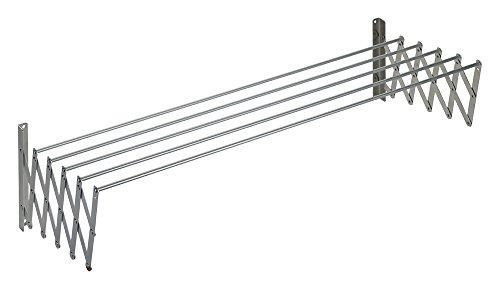 Tendedero Mural Extensible 160 Aluminio