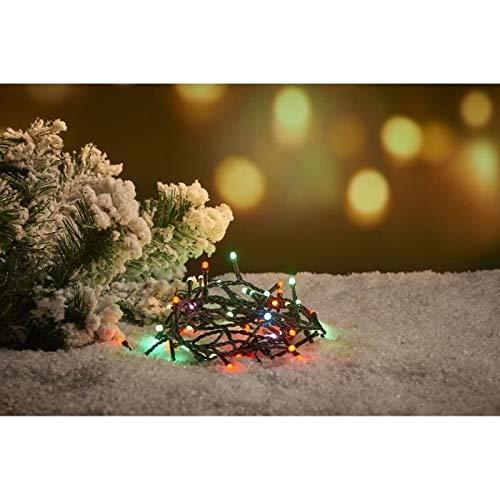 Guirlande extérieure - 60 LED Multicolore Doux RGB - 3 m