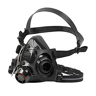 North Safety 770030L 7700 Series Silicone Half Mask Respirator Large (1 EA) Mask Only by Honeywell