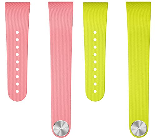 Sony Mobile Armband Wechselband für Sony SmartBand Talk in Größe S - Pink/Limette