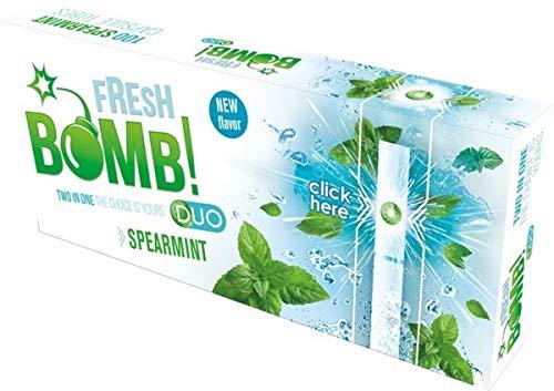 Fresh Bomb Spearmint Click Hülsen mit Aromakapsel 1 Box (100 Hülsen)