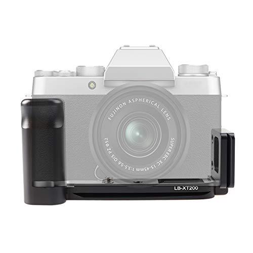 L Halterung vertikale Schnellwechselplatte Handgriff fur Fujifilm Fuji X T200 XT200 Kamera