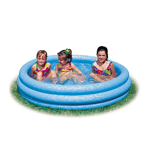 JEMIDI Aufblasbarer Pool Schimmbecken Kinderbecken Planschbecken Kinderpool 168cm x 41cm