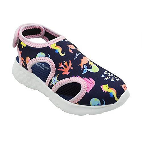 KazarMax Boy's & Girls' Navy Blue Fashion Sandal - 12.5 UK