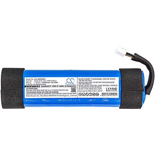 Replacement Battery for JBL Xtreme 2 JBLXTREME2BLKAM JBLXTREME2BLUAM,fits SUN-INTE-103 2INR19 66-2,6800mAh