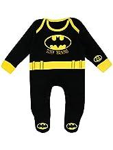 Batman Pijama Entero para Niños Bebés DC Comics - 3-6 Meses