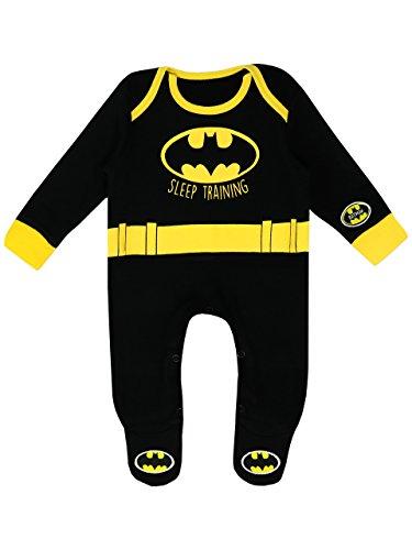 Batman Pijama Entero para Niños Bebés DC Comics - 9-12 Meses