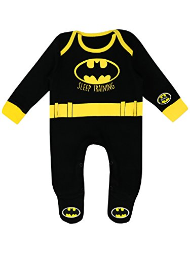Batman Baby Jungen DC Comics Schlafstrampler 56-68