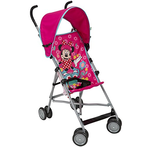 Disney Umbrella Stroller With Canopy - All About Minnie Pink Minnie Pattern by Safety 1st