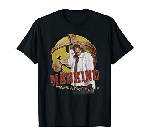 WWE Mankind Have A Nice Day T-Shirt
