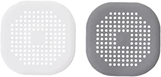 Haar Catcher Silicone Plein Badkamer Shower Filter Afvoerputje Waste Zeef Schild 2pcs Keuken Accessoires