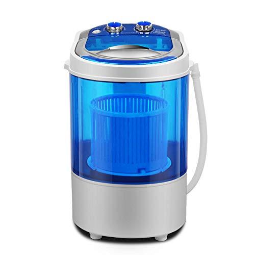 Mini-wasmachine, draaibare wasdroger – compact en duurzaam ontwerp, geschikt voor woning, camper, caravan, camping, badkamer, stuurwiel droger (330 x 320 x 520 mm)