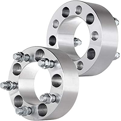 """ECCPP Wheel Spacers 5x4.5, 2PCS 2"""" 5x4.5 to 5x4.5 87.1mm 1/2"""" for Jeep Liberty Jeep Wrangler Jeep Cherokee Jeep Grand Cherokee Jeep Comanche"""
