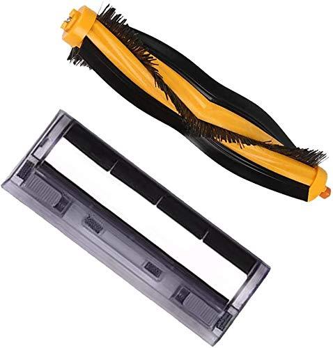 Henseek DIY Tools Roller Brush & Main Roller Cover Brush Box Ersatz für Deebot OZMO 930 Staubsauger Ersatzteile Bodenpflege