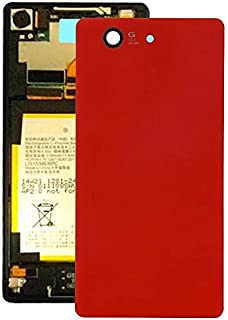 Battery case Jrc Battery Back Cover for Sony Xperia Z3 Compact / D5803(Black) Mobile phone accessories (Color : Red)
